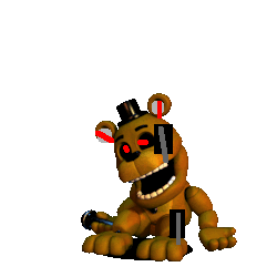 Nightmare Golden Freddy